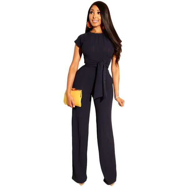LSZYOWS Ribbed Two Piece Set Casual Party Work Wear Women Short Sleeve Tops And Wide Leg Pants Summer 2 Piece Outfits Tracksuits