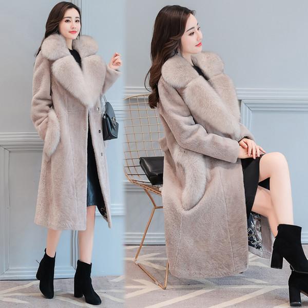 Manteau femme peau de mouton