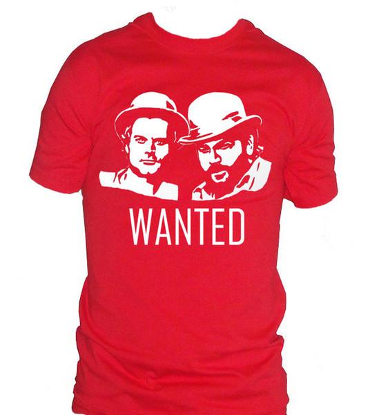 fm10 t-shirt uomo BUD SPENCER TERENCE HILL filme cult filme CINEMATV denim roupas camiseta