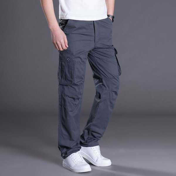 Cargo Pants Men Style Army Casual Cotton With Many Pockets Cargo Pants For Men Autumn Spring Plus Size Xxxl