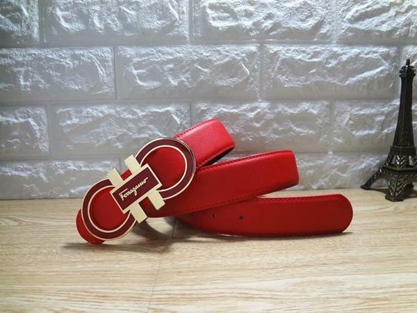 2019Ferragamo ceinture en cuir lisse ceintures de luxe ceintures concepteur boucle ceinture ceintures de chasteté masculine top mode hommes en cuir beltt