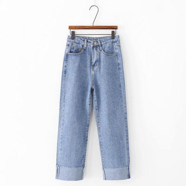 Compre Goplus Boyfriend Jeans Sueltos Para Mujeres 2019 Casual Vintage Cintura Alta Pantalones De Mezclilla Negro Mujer Tallas Grandes Pantalones Rectos C7442 A 25 09 Del Biusec Dhgate Com