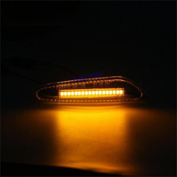 E61 A18 Posición X1 Haz De Bmw Del E36 E82 09 Para E91 E81 Dahosun Compre Luces Autohomeled X3 AmarilloBlanco Laterales E88 Led X5 2x OZukXPi