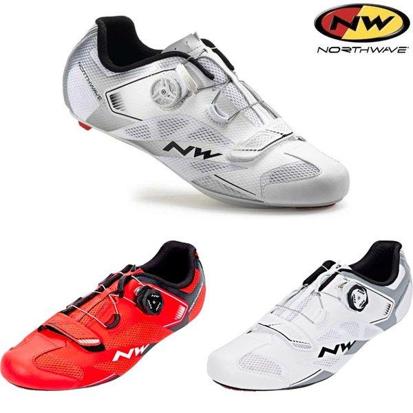 Northwave Sonic 2 Artı Yol Bisikleti Bisiklet Ayakkabıları SPD SL Havalandırma CarbonNW Kilit Shose NW