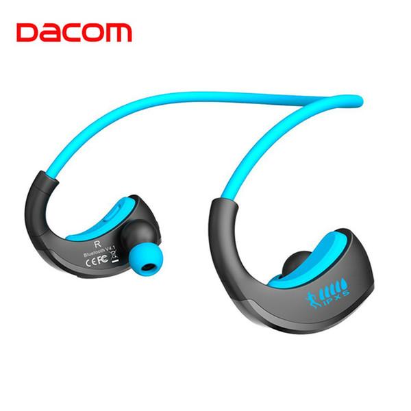 Dacom ARMOR Esportes À Prova D 'Água Sem Fio Fones De Ouvido Bloototh Bluetooth Fones De Ouvido Fone De Ouvido Fones De Ouvido com Microfone Mãos Livres para Correr