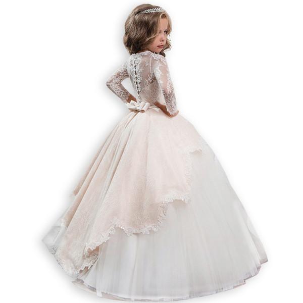 Kinder Blumen Mädchen Abendkleid Prinzessin Party Urlaub Sommerkleid Festkleider