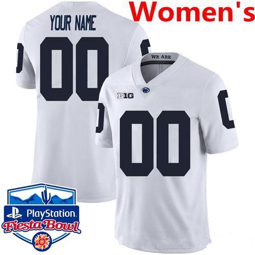 Женщины # 039; S Белого Имя с Fiesta Bowl