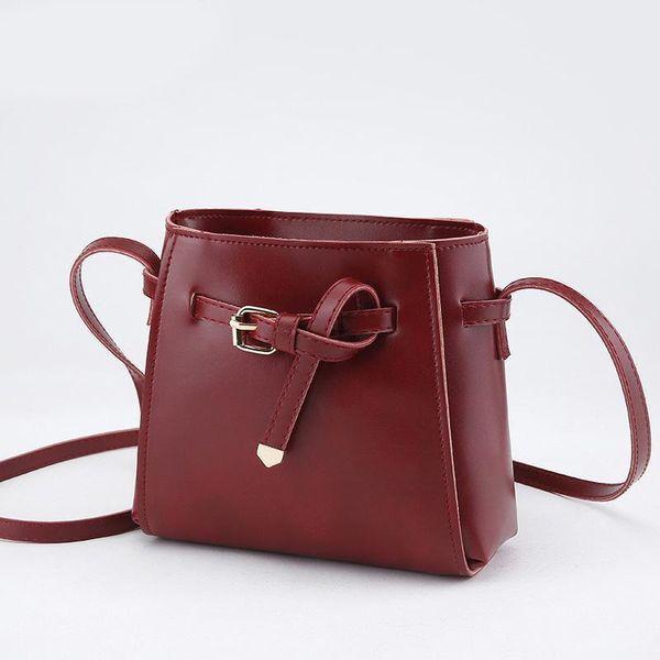 Pop Female Bag Women Messenger Bag Lady Shoulder Bags Belt Decorated Small Square Oblique Cross Body Bags Girl Handbag