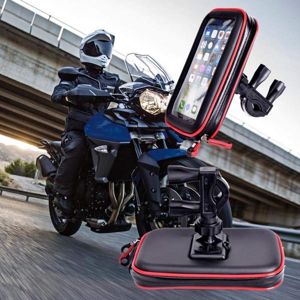 2018 Hohe Qualität Upgrade Wasserdichte Tasche Bike Support Mobile Gps Motorrad Handyhalter Suporte Para Celular J190507