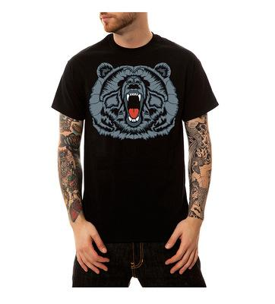 2019 TEEHUB Moda para hombre Tigre feroz camiseta de manga corta estampada Hipster O-cuello Diseño Tops Camiseta Desgin fresca