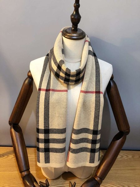 Mens Woman Scarfs Fashion Wool Blend Scarves for Mens Woman Hot Tops Highly Quality Size 180*30cm 2 Colors Optional
