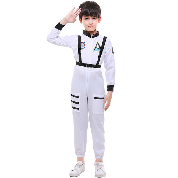 Halloween costume for kids boys astronaut costume children Cosplay Jumpsuit Masquerade Carnival Party clothes dance child