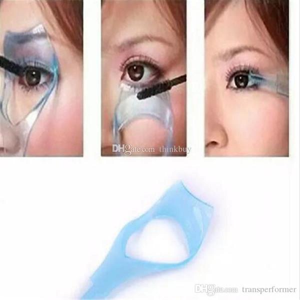 3 in 1 Makeup Eye Lash Brush Mascara Eyelash Curler Guard Applicator Comb Guide Cosmetic Styling Tool Eyelash Curler Heated aa302-309 2018