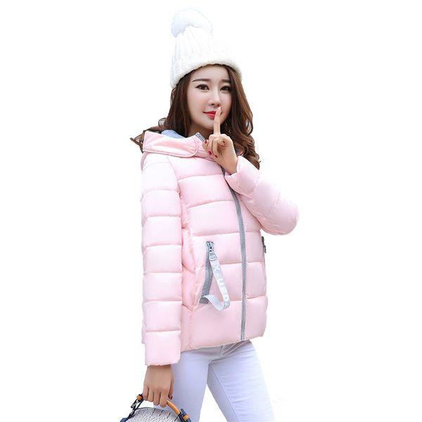 2019 New Fashion Women Coat Female Outerwear Women Parka Short Winter Jacket Cotton Clothing Woman Jackets Lady Clothing