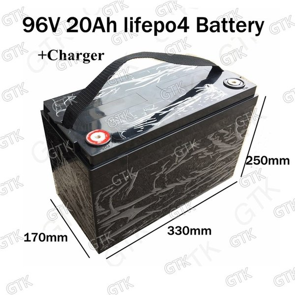 Chinese factory direct sales High capacity Lifepo4 96v 20ah battery pack 3500w electric scooter Electric Motorcycle Conversion