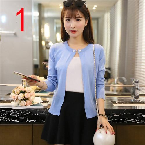 Yeni J60895 OL Office Lady Workwear Hırka Tops