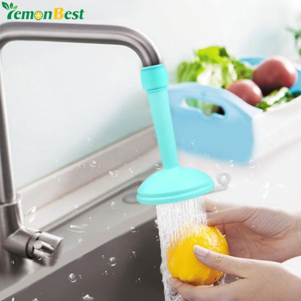 saving water Creative Kitchen Bathroom Save Water Tap Rotating Spray Adjustable Faucet Regulator Extender Spill Valve Shower Filter