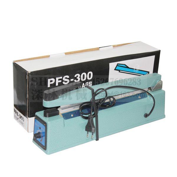"Hand sealer SF300 manual sealing machine poly bags heat sealing tools aluminum foil bags welding sealer 12"" impulse heating"