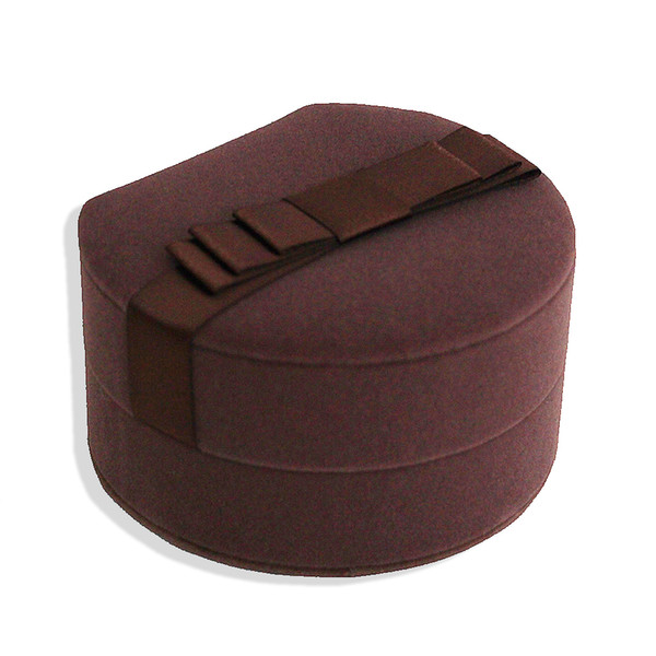 Wedding Velvet Jewelry Box Earrings Ring Display Gift Luxury Case Valentine's Day Gifts High Quality Rose Red Brown Boxs