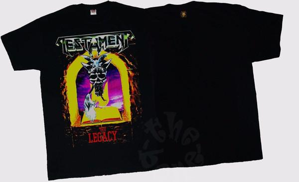 TESTAMENT-The Legacy - American thrash metal band, T_shirt-SIZES: S para 6XL