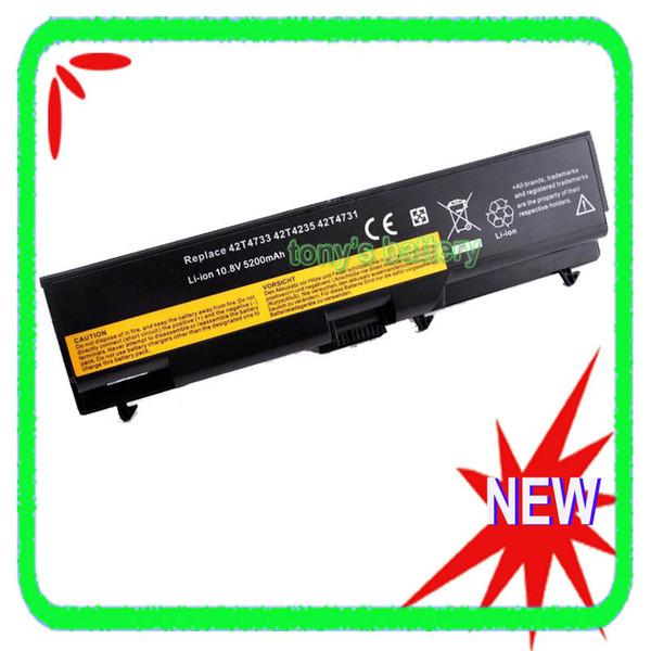 Batterie 5200mAh pour Lenovo ThinkPad T430 T430i L430 L530 T530 T530i W530 W530i 45N1001 45N1000 45N1005 45N1004