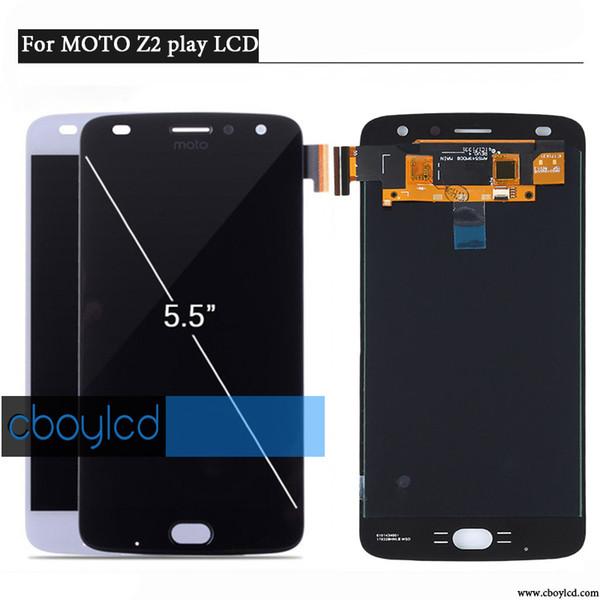 Display LCD AMOLED per Motorola Moto Z2 Play XT1710-01 / 07/08/10 Touch Screen Digitizer 5.5 pollici 1920 * 1080 assemblaggio