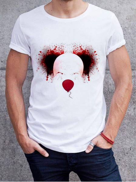 Fashion Men/Women 3D Print stephen king Casual T-Shirt Short Sleeve F098