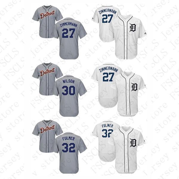 587041b58 Mens Detroit Tigers Cool Base & Flex base Alex Wilson Michael Fulmer  Baseball Jerseys ,Custom