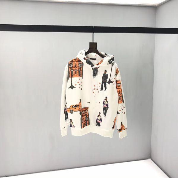 nouveaux marcheurs hoodie à capuche pour hommes de femmes Imprimer Hoodie Pull coton adolescent en vrac étudiant Sweat-shirt 2019 Nouveau Hauts QQ8