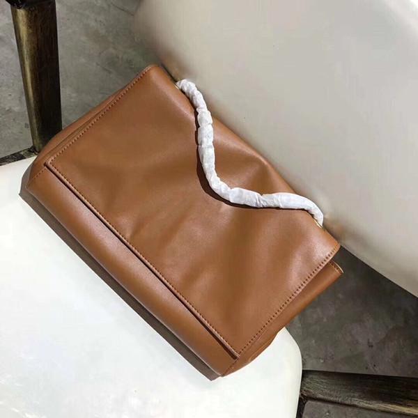 28cm Luxury fashionable designer handbags reversible suede Plain leather bags Single shoulder messenger bag designer crossbody bag
