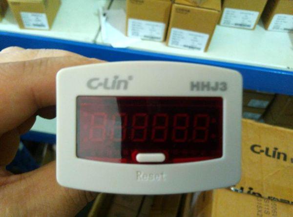 Подлинная C-Lin HHJ3 (JDM11-6H) Накопительный счетчик DC24V