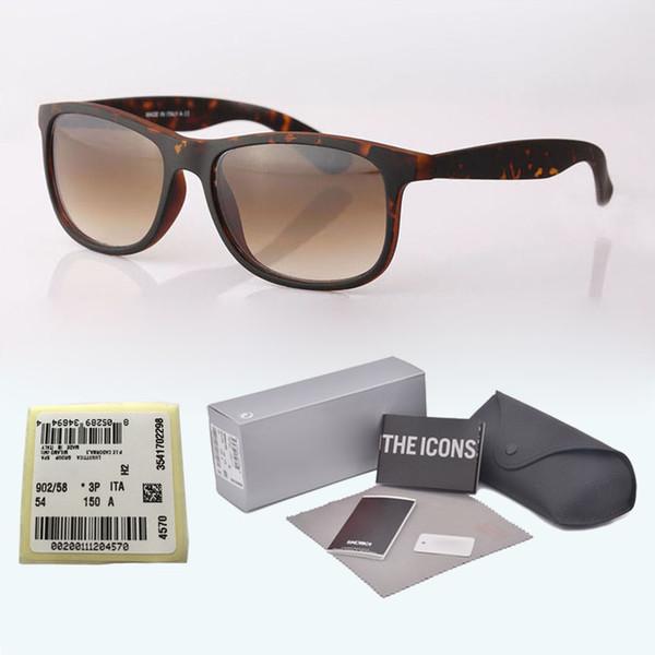 Top quality (glass lens) Sunglasses for Men Women Metal hinge Brand designer Vintage Retro Sun Glasses Eyewear with free box and label