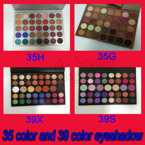 2019 35 color 39 color eye hadow palette j g h matte himmer eye hadow natural long la ting makeup beauty palette