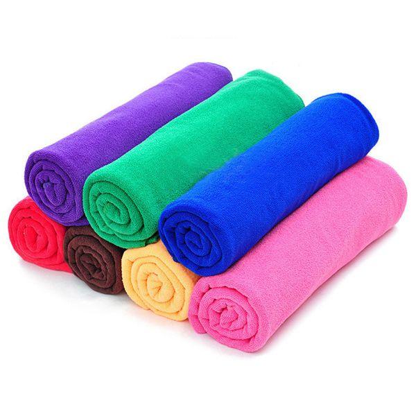 cloth briefcase 7pcs/lot High Quality Microfiber Towel Cleaning Wash Clean Cloth Car 50x25cm Towels Microfiber Care Car wash towel