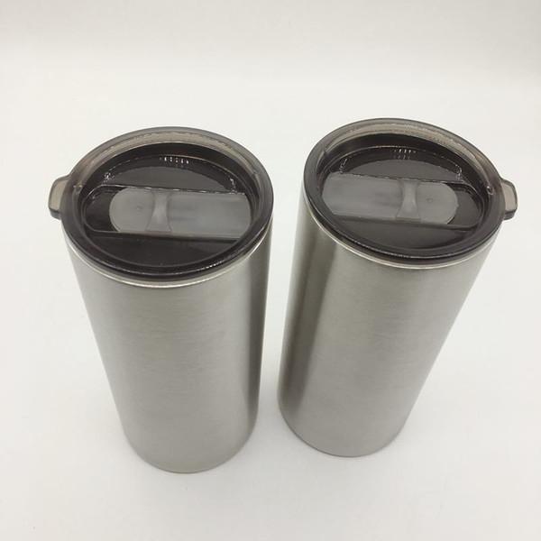 Grosses soldes!! Tasses 20oz gras gobelets sous vide en acier inoxydable boissons droites avec couvercles fournir directement à l'usine