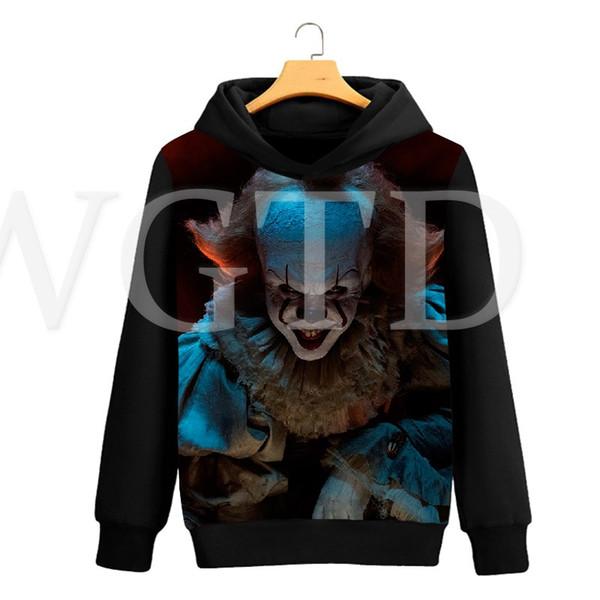 American Horror Movie Penny Wise Hoodies Women Men 3D Printed Sweatshirt Tracksuit Mens Streetwear Casual Hoodie Sweatshirt