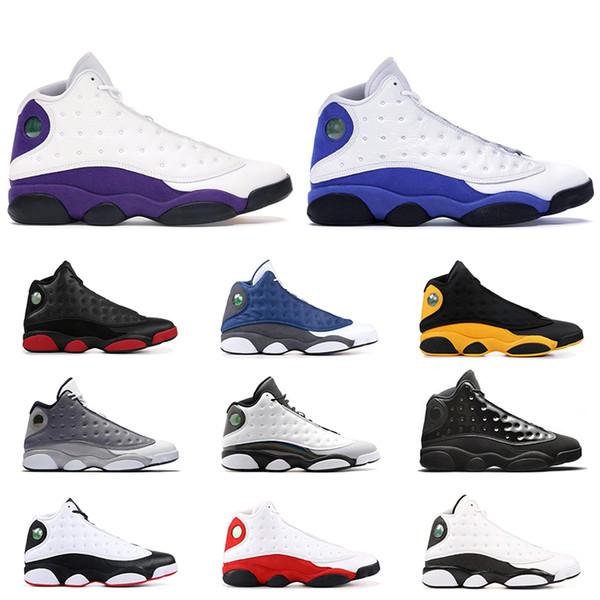 Nouveau 13 He Got Game chaussures de basket-ball hommes Phantom chat noir Chicago élevé Melo Classe de 2003 Hyper Royal baskets de sport taille 8-13