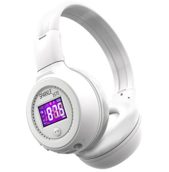 Cuffie senza fili Bluetooth stereo HiFi B570 di recente con microfono Radio FM Micro SD Card Play (vendita al dettaglio)