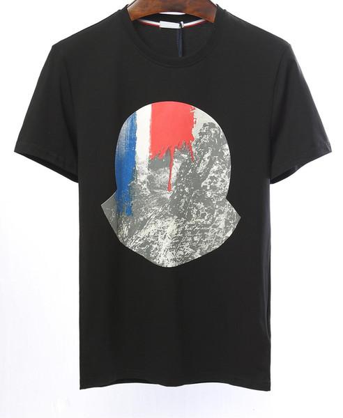 Men's Brand T-Shirt Milan Fashion Show M-T Shirt Men's and Women's Couples RODEO Magazine Men's Patch Short Sleeve Top