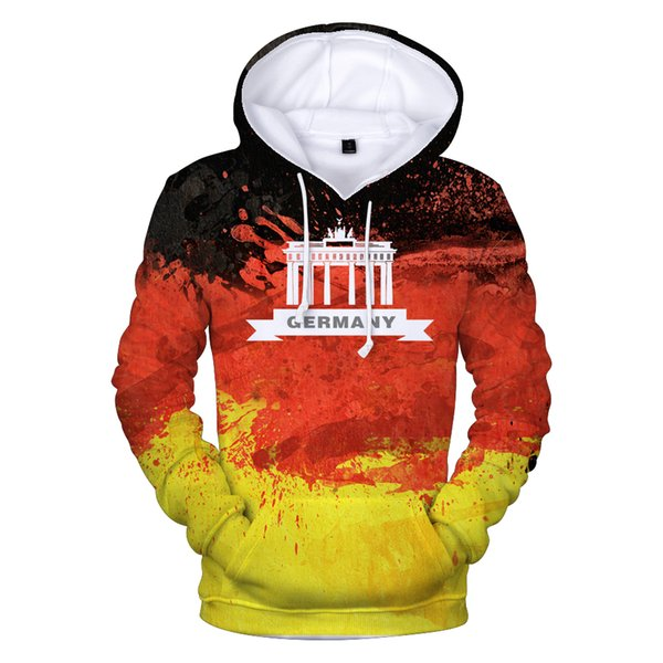 new Germany National Flag 3d Hoodies Men/women Fashion High Quality 3d Print Germany National Flag Casual Men's Hoodies