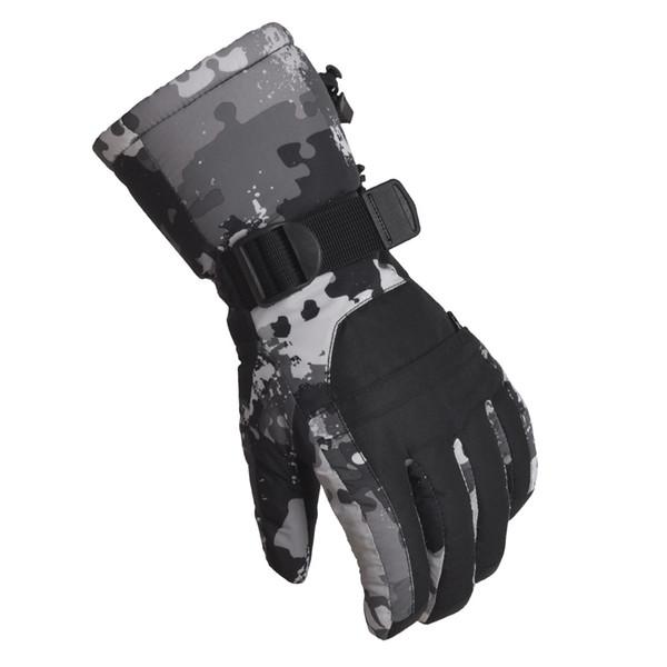 Women Men Sports Warm Thermal Windproof Ski Snow Motorcycle Snowboard Gloves