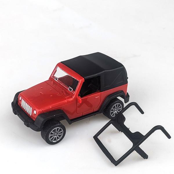Jeep Wrangler Red