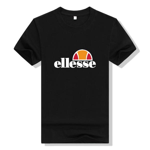 Classic Print Logo Mens T-Shirt Italian Sports Retro Fashion Brand Top Tee Men Summer Short Sleeve Cotton Blend Tshirts