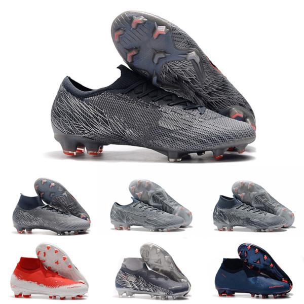 2019 nike football boots pas cher Nouvelle arrivée Mens Tiempo Legend VIII FG Chaussures de football la meilleure qualité Athletic Designer Chaussures Indoor Football Crampons