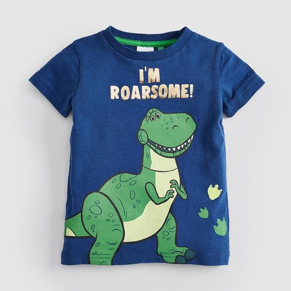 Baby girl designer clothes boys baby T-shirts 3d turtles printed t shirt kids short sleeve for summer 100%cotton China factory Wholesale
