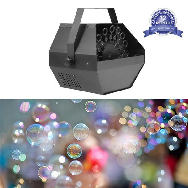 США Фото Портативный Bubble Machine, Professional Автоматическая Bubble Maker с высоким выходом для малышей игры, простой в использовании для вечеринки, свадьба