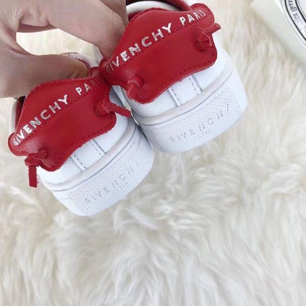 Bébé Designer Sneaker 2019 Marque Lettres Imprimé Bottes Courtes Style De Mode Enfants Casual Plat De Luxe Chaussures Garçons Filles EUR TAILLE 22-37