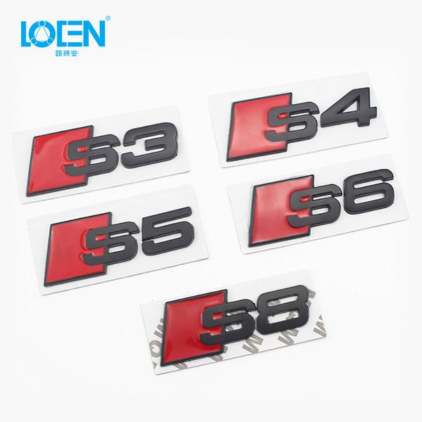 Etichette auto modificate in metallo Etichette personalizzate in metallo S3 S4 S5 S6 S8 Etichette modificate