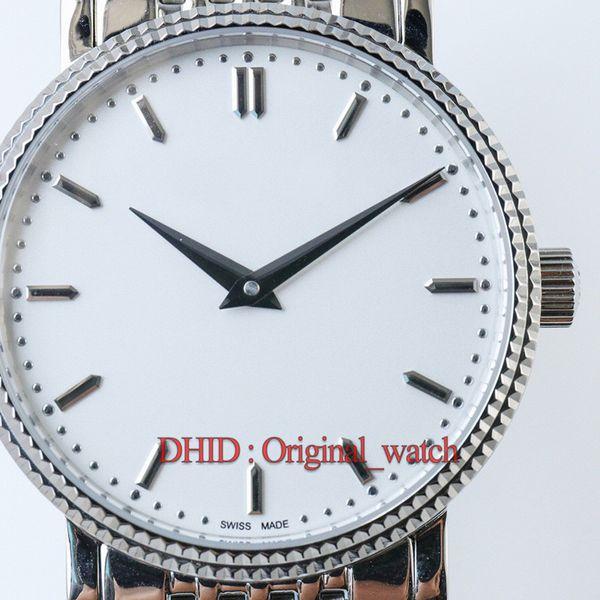 orologi da uomo di lusso montre de luxe 5120 cassa in oro 18 carati cassa in acciaio inossidabile 316L cinturini in zaffiro quadrante bianco Orologi da uomo A231