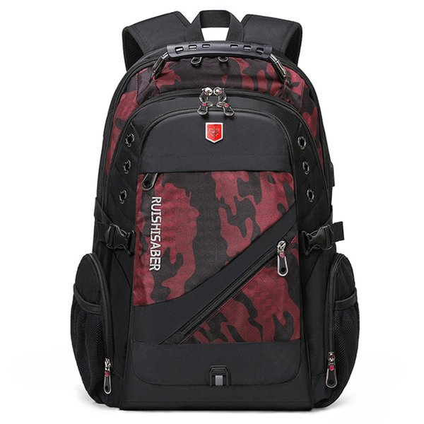 Camouflage red